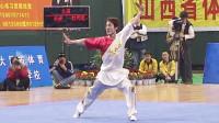 2005年第十届全运会男子武术套路预赛 男子长拳 001 赵庆建(北京)第二名