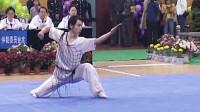 2005年第十届全运会男子武术套路预赛 男子长拳 002 蓝天(陕西)