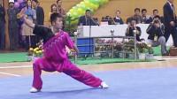 2005年第十届全运会男子武术套路预赛 男子长拳 003 刘智勇(山西)第一名