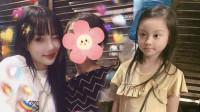 李小璐带女儿参加聚会 6岁甜馨越来越美