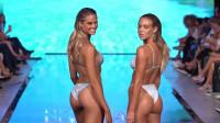 2020迈阿密泳装周超模走秀集锦,身材高挑又苗条,魅力四射