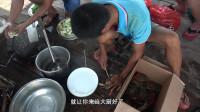 一帮广州网友过来玩,在海上烧菜煮饭吃海鲜,体验渔民生活