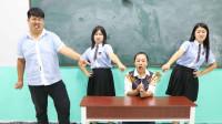 学生上课吃糖人被老师没收,没想老师自己却偷偷吃起来,太逗了