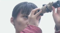 神枪:美女学会使用狙击枪的八倍镜,接下来一枪打爆鬼子头,真准