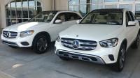 2019款和2020款的奔驰GLC300的差别有多大?停一块比一比就知道了