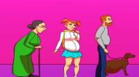 脑力测试:画面里只有一个孕妇,是谁呢?