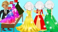 谁想要美人鱼的公主裙?瓢虫雷迪游戏