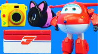 超级飞侠乐迪豪华变形机器人亲子玩具