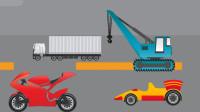 最新挖掘机视频表演137大卡车运输挖土机+挖机工作+工程车