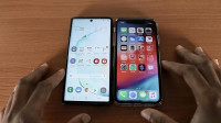 iPhone XR iOS13与三星Note10速度对比测试