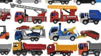 最新挖掘机视频表演52367大卡车运输挖土机+挖机工作+工程车