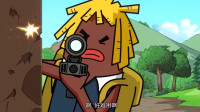 搞笑吃鸡动画:霸哥他们被空投砸脸,马可波竟丢掉十五倍镜,结局太逗了