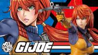 [玩具废柴]分享425 寿屋 G.I.JOE 特种部队 红发女郎 斯嘉丽 美少女系列