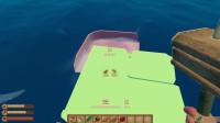 大海解说木筏求生 养了一只吃木板和塑料的鲨鱼