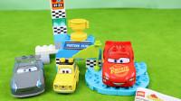 赛车总动员乐高积木组装模型分享