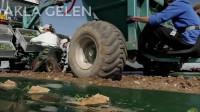 先进的农业技术令人印象深刻的拖拉机视频