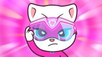 汤姆猫复仇记:大坏蛋把小动物关进箱子,安吉拉生气了