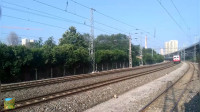连续全时段尽收陇海铁路咸阳段电力机车,你喜欢哪一种电力机车呢