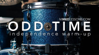 Mike Johnston - Drum Lesson- Odd Time Independence