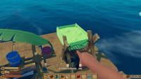 大海解说木筏求生 在海上开始种田生活,这样就饿不死了