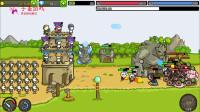 火柴人城堡22-剑士攻击史莱姆boss