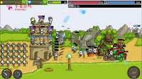 火柴人城堡25-召唤勇士抵御boss的进攻