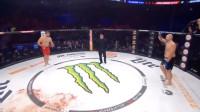 MMA重量级巨兽对决 200多斤的壮汉被一拳KO