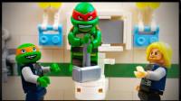 定格动画-乐高城市故事之超级英雄忍者神龟和雷神