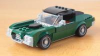 乐高MOC拼装1970福特 都灵Gran Torino GT老爷车积木