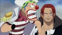 海贼王:让巴基船长怒火中烧的人,驰骋新世界的红发香克斯正巴基面前装傻