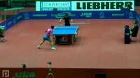 2011奥地利公开赛 马琳vs张继科 乒乓球比赛视频 侧面视角 剪辑