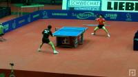 2011奥地利公开赛 马龙vs张继科 乒乓球比赛视频 侧面视角 剪辑