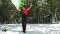 紫竹院广场舞《第四套健身秧歌》,姜老师独舞