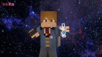 《泰迦奥特曼》自制3D剧情特效动画!泰迦vs石头人-我的世界版