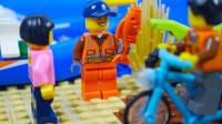 定格动画-乐高城市故事之能实现愿望的阿拉丁金鱼