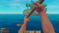 大海解说木筏求生 好不容易登陆岛屿,却上不去第二层