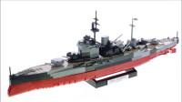 LEGO乐高积木玩具Cobi系列3082战舰世界HMS Warspite套装速拼