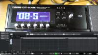 重兽测评-如何通过MIDI Program 自动控制效果器的音色切换