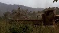 坦克部队遭敌机空袭, 最后战机反被袭击