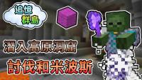 熊猫团团【我的世界】CTM 追忆群岛 深入高原洞窟,讨伐和米波斯!