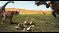 恐龙王:班大师三人组发现绿洲,钢妈见义勇为,救出恐龙蛋