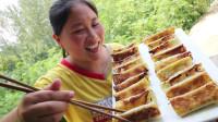 胖妹做地道家乡菜,外皮金黄酥脆,鲜嫩多汁,1人吃2锅,真馋人