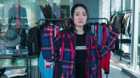 翻译小姐姐变服装模特,展示日本运动潮牌上身效果!马老师讲穿搭。