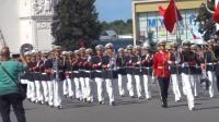 2019莫斯科国际军乐节,多国军乐队参与,中国海军乐队惊艳亮相!