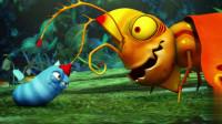 爆笑虫子-大黄一直都是隐藏的英雄,大红还想模仿,结果被吸成干!