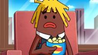 搞笑吃鸡动画:霸哥零杀吃鸡撞大运!玩游戏越菜的人运气越好?没天理啊