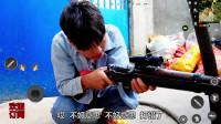 绝地求生真人版:三个人钢枪,小伙的98k竟然歪打正着?