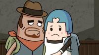 搞笑吃鸡动画:没想到炸鸡少女曾经是霸哥的徒弟,真是青出于蓝而胜于蓝
