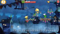愤怒的小鸟2游戏【796】猪大厨站在很多风扇上!被吹起开了