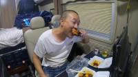 青海旅行,房车大口出肉大口喝酒,格尔木的烤羊蹄羊腿,太美味了